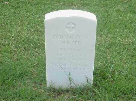 WHITE (VETERAN WWII), JOHNNY T - Pulaski County, Arkansas | JOHNNY T WHITE (VETERAN WWII) - Arkansas Gravestone Photos