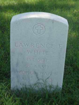 WHITE (VETERAN WWII), LAWRENCE E - Pulaski County, Arkansas | LAWRENCE E WHITE (VETERAN WWII) - Arkansas Gravestone Photos
