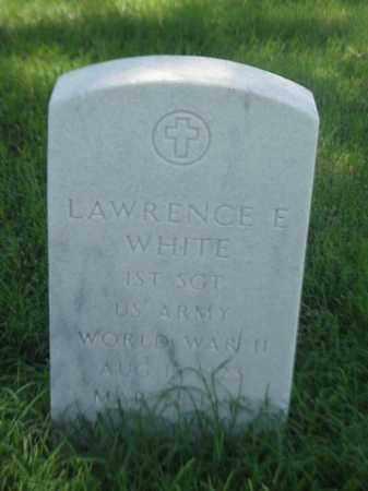 WHITE (VETERAN WWII), LAWRENCE E - Pulaski County, Arkansas | LAWRENCE E WHITE (VETERAN WWII) - Arkansas Gravestone Photos