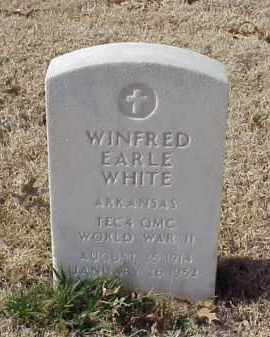 WHITE (VETERAN WWII), WINFRED EARLE - Pulaski County, Arkansas | WINFRED EARLE WHITE (VETERAN WWII) - Arkansas Gravestone Photos