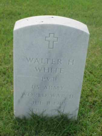 WHITE (VETERAN WWII), WALTER H - Pulaski County, Arkansas | WALTER H WHITE (VETERAN WWII) - Arkansas Gravestone Photos