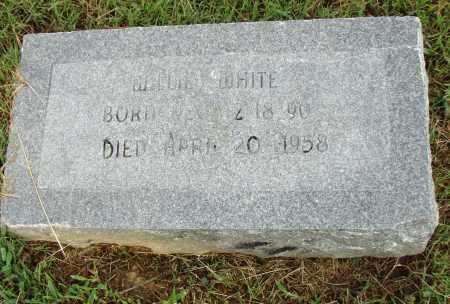 WHITE, WILLIE - Pulaski County, Arkansas   WILLIE WHITE - Arkansas Gravestone Photos