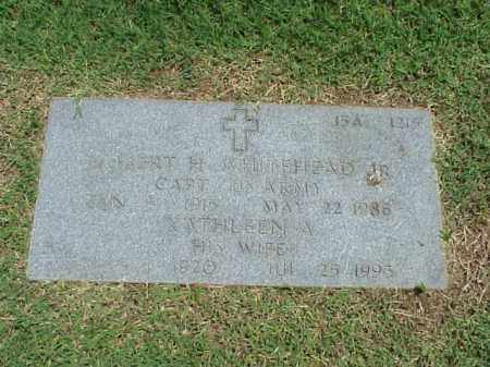 WHITEHEAD, JR (VETERAN WWII), ROBERT H - Pulaski County, Arkansas | ROBERT H WHITEHEAD, JR (VETERAN WWII) - Arkansas Gravestone Photos