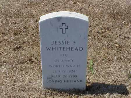 WHITEHEAD (VETERAN WWII), JESSIE F - Pulaski County, Arkansas | JESSIE F WHITEHEAD (VETERAN WWII) - Arkansas Gravestone Photos
