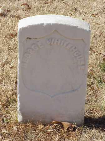 WHITEHOUSE (VETERAN UNION), GEORGE - Pulaski County, Arkansas | GEORGE WHITEHOUSE (VETERAN UNION) - Arkansas Gravestone Photos
