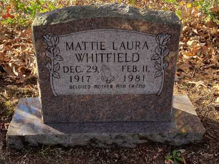 WHITFIELD, MATTIE LAURA - Pulaski County, Arkansas | MATTIE LAURA WHITFIELD - Arkansas Gravestone Photos