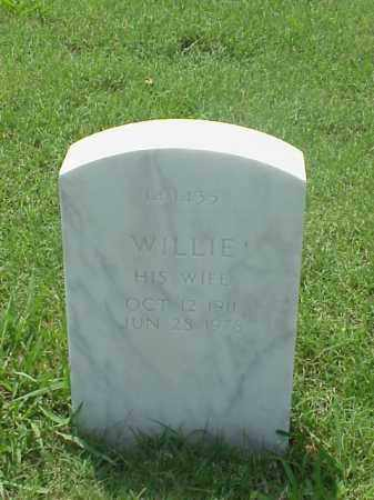 WHITFIELD, WILLIE - Pulaski County, Arkansas | WILLIE WHITFIELD - Arkansas Gravestone Photos