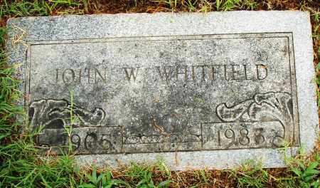 WHITFIELD, JOHN W. - Pulaski County, Arkansas | JOHN W. WHITFIELD - Arkansas Gravestone Photos