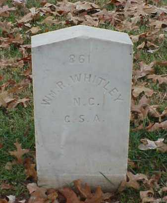 WHITLEY (VETERAN CSA), WILLIAM R - Pulaski County, Arkansas | WILLIAM R WHITLEY (VETERAN CSA) - Arkansas Gravestone Photos