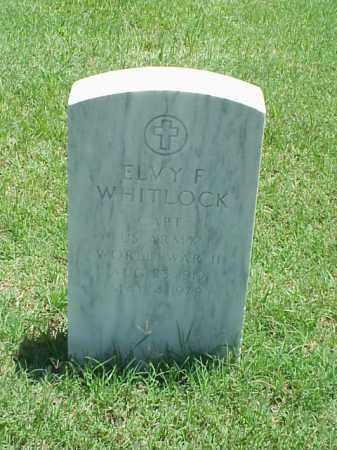 WHITLOCK (VETERAN WWII), ELVY F - Pulaski County, Arkansas | ELVY F WHITLOCK (VETERAN WWII) - Arkansas Gravestone Photos