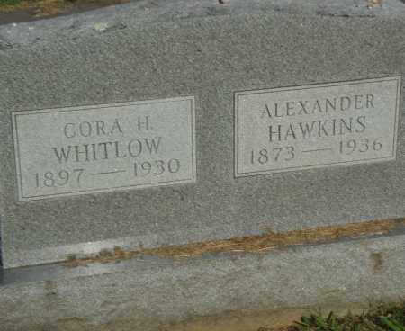 WHITLOW, CORA H. - Pulaski County, Arkansas | CORA H. WHITLOW - Arkansas Gravestone Photos