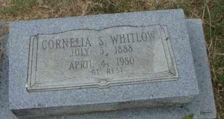 WHITLOW, CORNELIA S. - Pulaski County, Arkansas | CORNELIA S. WHITLOW - Arkansas Gravestone Photos