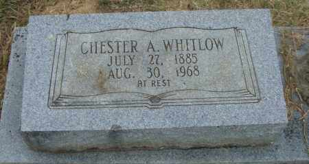 WHITLOW, CHESTER A. - Pulaski County, Arkansas | CHESTER A. WHITLOW - Arkansas Gravestone Photos