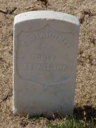 WHITNEY (VETERAN UNION), E G - Pulaski County, Arkansas | E G WHITNEY (VETERAN UNION) - Arkansas Gravestone Photos