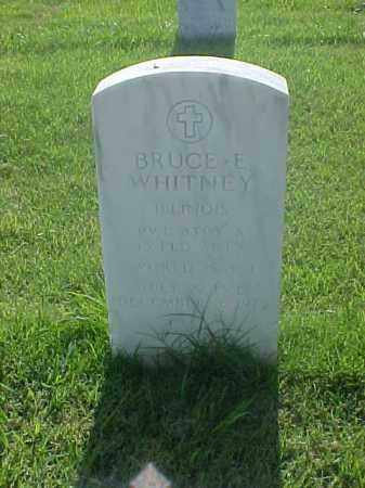 WHITNEY (VETERAN WWI), BRUCE E - Pulaski County, Arkansas | BRUCE E WHITNEY (VETERAN WWI) - Arkansas Gravestone Photos