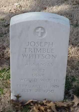 WHITSON (VETERAN WWII), JOSEPH TRIMBLE - Pulaski County, Arkansas | JOSEPH TRIMBLE WHITSON (VETERAN WWII) - Arkansas Gravestone Photos