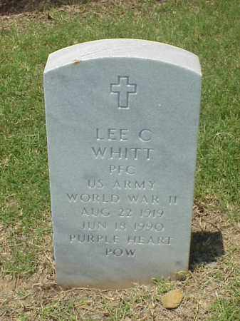 WHITT (VETERAN WWII POW), LEE C - Pulaski County, Arkansas | LEE C WHITT (VETERAN WWII POW) - Arkansas Gravestone Photos