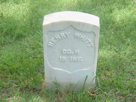 WHITT (VETERAN UNION), HENRY - Pulaski County, Arkansas | HENRY WHITT (VETERAN UNION) - Arkansas Gravestone Photos