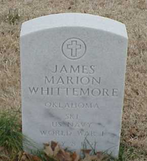 WHITTEMORE  (VETERAN WWI), JAMES MARION - Pulaski County, Arkansas | JAMES MARION WHITTEMORE  (VETERAN WWI) - Arkansas Gravestone Photos