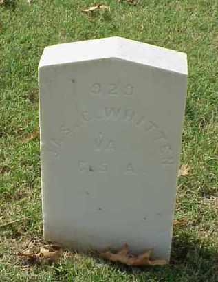 WHITTEN (VETERAN CSA), JAMES C - Pulaski County, Arkansas | JAMES C WHITTEN (VETERAN CSA) - Arkansas Gravestone Photos