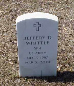 WHITTLE (VETERAN), JEFFERY D - Pulaski County, Arkansas | JEFFERY D WHITTLE (VETERAN) - Arkansas Gravestone Photos