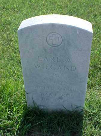 WIEGAND (VETERAN WWII), EARL A - Pulaski County, Arkansas | EARL A WIEGAND (VETERAN WWII) - Arkansas Gravestone Photos