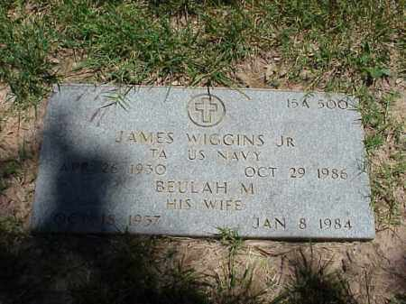 WIGGINS, JR (VETERAN KOR), JAMES - Pulaski County, Arkansas | JAMES WIGGINS, JR (VETERAN KOR) - Arkansas Gravestone Photos