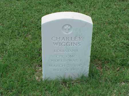 WIGGINS (VETERAN WWI), CHARLEY - Pulaski County, Arkansas | CHARLEY WIGGINS (VETERAN WWI) - Arkansas Gravestone Photos