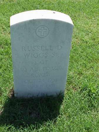 WIGGS (VETERAN KOR), RUSSELL D - Pulaski County, Arkansas | RUSSELL D WIGGS (VETERAN KOR) - Arkansas Gravestone Photos