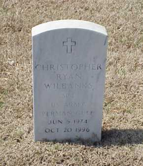 WILBANKS (VETERAN PGW), CHRISTOPHER RYAN - Pulaski County, Arkansas | CHRISTOPHER RYAN WILBANKS (VETERAN PGW) - Arkansas Gravestone Photos