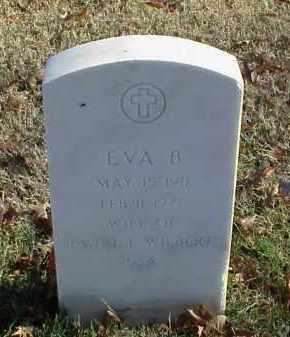 WILBERT, EVA B - Pulaski County, Arkansas | EVA B WILBERT - Arkansas Gravestone Photos