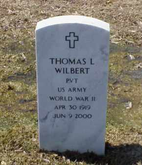 WILBERT (VETERAN WWII), THOMAS L - Pulaski County, Arkansas | THOMAS L WILBERT (VETERAN WWII) - Arkansas Gravestone Photos