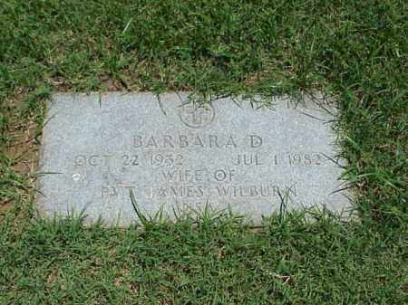 WILBURN, BARBRA D - Pulaski County, Arkansas | BARBRA D WILBURN - Arkansas Gravestone Photos