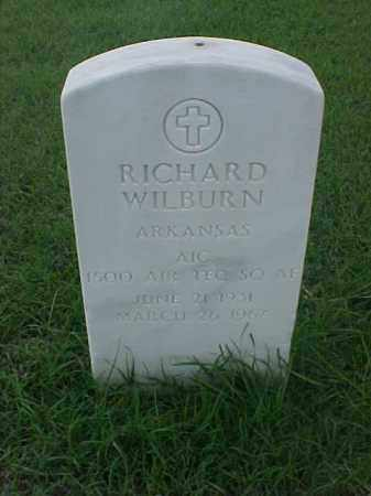 WILBURN (VETERAN), RICHARD - Pulaski County, Arkansas | RICHARD WILBURN (VETERAN) - Arkansas Gravestone Photos