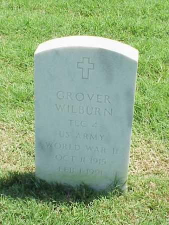WILBURN (VETERAN WWII), GROVER - Pulaski County, Arkansas | GROVER WILBURN (VETERAN WWII) - Arkansas Gravestone Photos