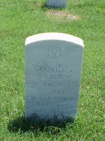 WILBURN (VETERAN WWII), GEORGE J - Pulaski County, Arkansas | GEORGE J WILBURN (VETERAN WWII) - Arkansas Gravestone Photos
