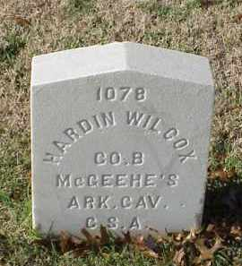 WILCOX (VETERAN CSA), HARDIN - Pulaski County, Arkansas | HARDIN WILCOX (VETERAN CSA) - Arkansas Gravestone Photos