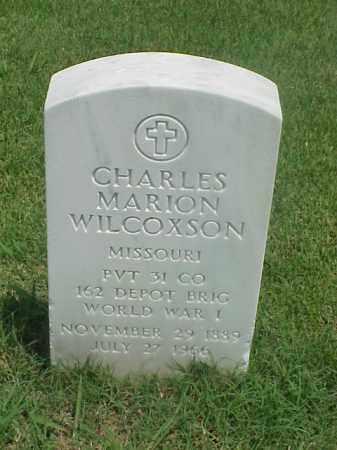 WILCOXSON (VETERAN WWI), CHARLES MARION - Pulaski County, Arkansas | CHARLES MARION WILCOXSON (VETERAN WWI) - Arkansas Gravestone Photos