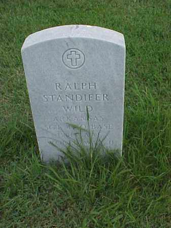 WILD (VETERAN WWII), RALPH STANDIFER - Pulaski County, Arkansas | RALPH STANDIFER WILD (VETERAN WWII) - Arkansas Gravestone Photos