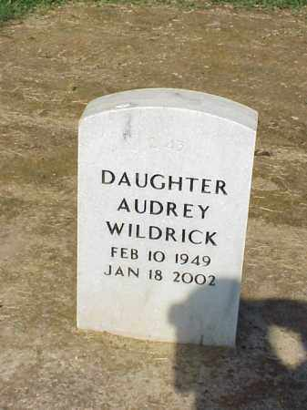 WILDRICK, AUDREY - Pulaski County, Arkansas | AUDREY WILDRICK - Arkansas Gravestone Photos