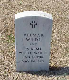 WILDS (VETERAN WWII), VELMAR - Pulaski County, Arkansas | VELMAR WILDS (VETERAN WWII) - Arkansas Gravestone Photos