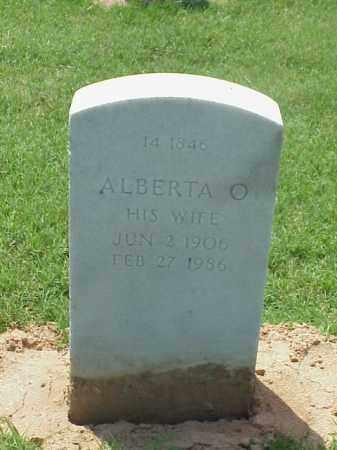 WILEY, ALBERTA O - Pulaski County, Arkansas | ALBERTA O WILEY - Arkansas Gravestone Photos