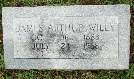 WILEY, JAMES ARTHUR - Pulaski County, Arkansas | JAMES ARTHUR WILEY - Arkansas Gravestone Photos