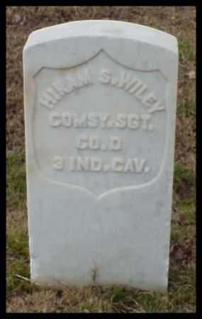 WILEY (VETERAN UNION), HIRAM S - Pulaski County, Arkansas | HIRAM S WILEY (VETERAN UNION) - Arkansas Gravestone Photos