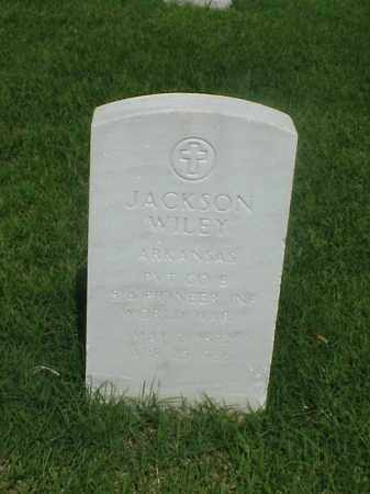 WILEY (VETERAN WWI), JACKSON - Pulaski County, Arkansas | JACKSON WILEY (VETERAN WWI) - Arkansas Gravestone Photos