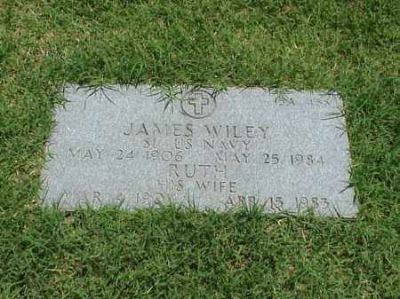 WILEY (VETERAN WWII), JAMES - Pulaski County, Arkansas   JAMES WILEY (VETERAN WWII) - Arkansas Gravestone Photos