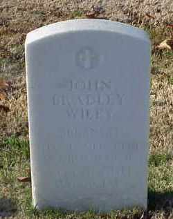 WILEY (VETERAN WWII), JOHN BRADLEY - Pulaski County, Arkansas | JOHN BRADLEY WILEY (VETERAN WWII) - Arkansas Gravestone Photos