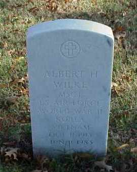 WILKE (VETERAN 3 WARS), ALBERT H - Pulaski County, Arkansas | ALBERT H WILKE (VETERAN 3 WARS) - Arkansas Gravestone Photos