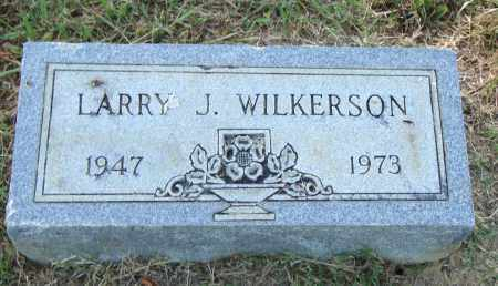 WILKERSON, LARRY J. - Pulaski County, Arkansas | LARRY J. WILKERSON - Arkansas Gravestone Photos
