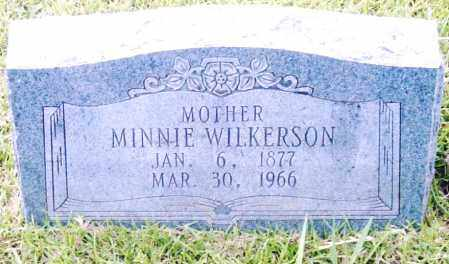 WILKERSON, MINNIE - Pulaski County, Arkansas | MINNIE WILKERSON - Arkansas Gravestone Photos